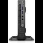 HP 260 G2 i5-6200U mini PC 6th gen Intel® Core™ i5 4 GB DDR4-SDRAM 128 GB SSD Windows 10 Home Black