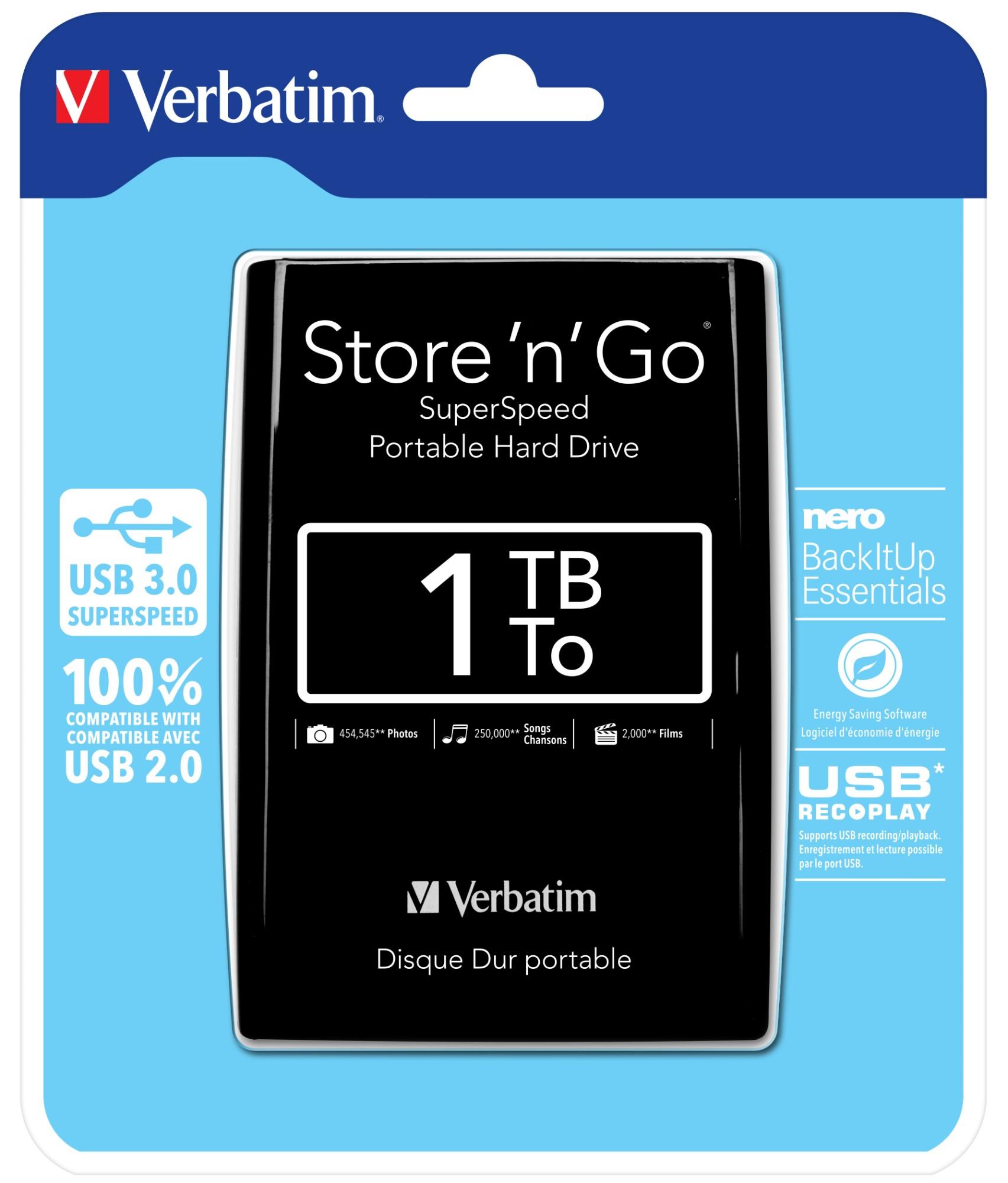Verbatim VB-25U3-01T01