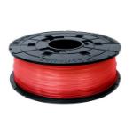 XYZprinting RFPLBXEU02D 3D printing material Polylactic acid (PLA) Red,Transparent 600 g
