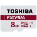 Toshiba EXCERIA M301-EA 8GB 8GB MicroSDHC UHS-I Class 10 memory card