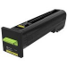 Lexmark Yellow Return Program Toner Cartridge for US Government (8000 Yield) (TAA Compliant Version of 72K10