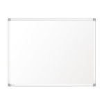 Nobo Prestige Enamel Magnetic Whiteboard 1200x1000 with Aluminium Trim
