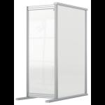 Nobo 1915499 magnetic board Gray, Transparent