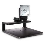 HP Adjustable Display Stand Zwart