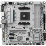 MSI B350M MORTAR ARCTIC AMD B350 Socket AM4 Micro ATX motherboard