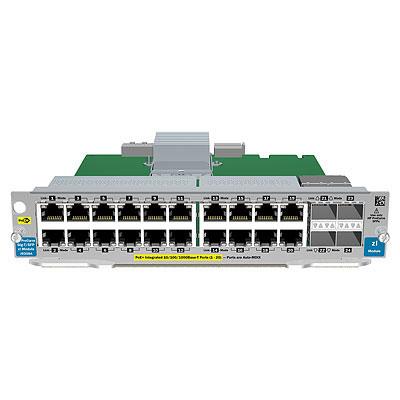 Hewlett Packard Enterprise 20-port Gig-T / 2-port 10GbE SFP+ v2 Gigabit Ethernet network switch module