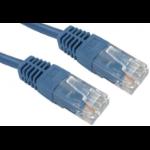 Target URT-600 networking cable 0.5 m Cat5e U/UTP (UTP) Blue