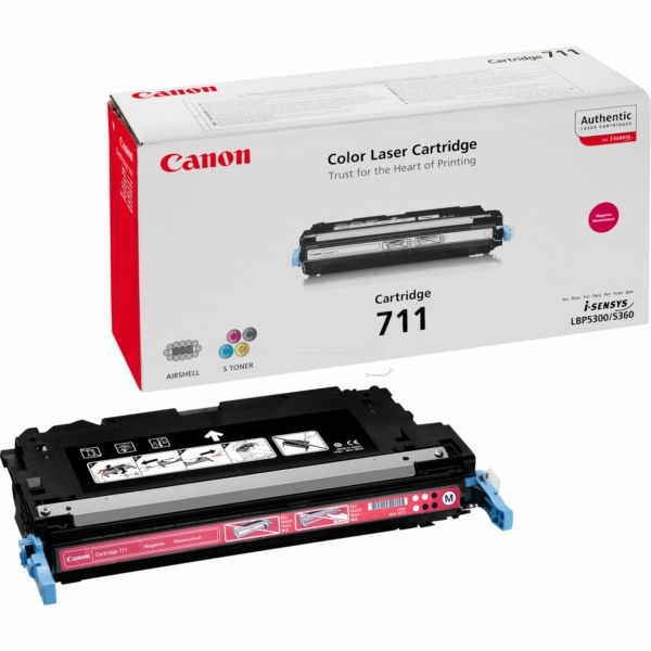 Canon 1658B002 (711M) Toner magenta, 6K pages