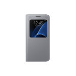 "Samsung S View Cover 5.1"" Flip case Silver"