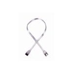 Akasa SATA2-100-SL SATA cable 1 m Transparent