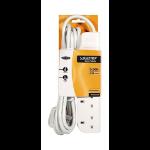 Belkin E-Series 4 Socket, 3-Metre SurgeStrip 4 AC outlet(s) 230 V White 3 m