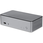 "StarTech.com Dual-Monitor USB-C Dock for Windows - 2.5"" SATA SSD/HDD Bay"