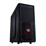 Cooler Master Gaming K282 Midi-Tower Black computer case