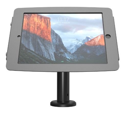 Maclocks K/Kiosk Stand w/Vesa Mount+Cbl Mngt 20cm1 Black tablet security enclosure