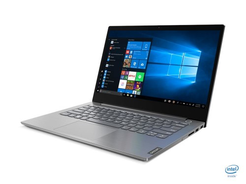 """Lenovo ThinkBook 14 Notebook Gray 35.6 cm (14"""") 1920 x 1080 pixels 10th gen Intel® Core™ i5 8 GB DDR4-SDRAM 256 GB SSD Wi-Fi 5 (802.11ac) Windows 10 Pro"""