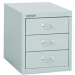 Bisley FF BISLEY 12/3 NON-LOCK MULTIDRAWER GREY