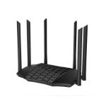 Tenda AC21 router inalámbrico Doble banda (2,4 GHz / 5 GHz) Gigabit Ethernet Negro