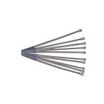 StarTech.com 8in Nylon Cable Ties - Pkg of 1000