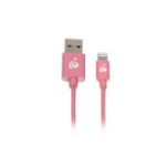 "iogear GRUL01-PK lightning cable 39.4"" (1 m) Pink"