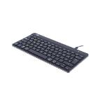 R-Go Tools R-Go Compact Break Keyboard, QWERTZ (DE), black, wired