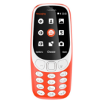 Nokia 3310 2017 2.4 Inch QVGA Display 2MP Camera 16MB Red