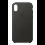 "Apple MQTF2ZM/A 5.8"" Skin case Charcoal, Grey mobile phone case"