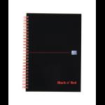 Black n' Red Black n Red A5 Wirebound Hardback Notebook PK5