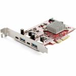 StarTech.com PEXUSB312A2C2V interface cards/adapter Internal USB 3.2 Gen 2 (3.1 Gen 2)