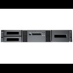 Hewlett Packard Enterprise MSL2024 1 LTO-4 Ultrium 1840 Fibre Channel Tape Library 19200GB 2U