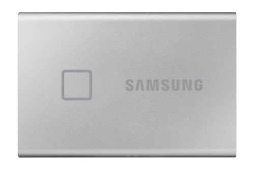 Samsung Portable SSD T7 Touch 1TB - Silver