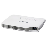 Casio XJ-A252 data projector 3000 ANSI lumens DLP WXGA (1280x800) Desktop projector Grey,White