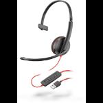 POLY Blackwire C3210 Headset Head-band Black
