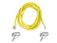 Belkin High Performance - Patch cable - RJ-45(M) - RJ-45(M), 2m, UTP ( CAT 6 ) - yellow