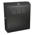 Tripp Lite SmartRack 5U Low-Profile Vertical-Mount Switch-Depth Wall-Mount Rack Enclosure Cabinet