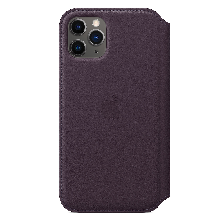 "Apple MX072ZM/A mobile phone case 14.7 cm (5.8"") Folio Purple"