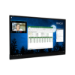 "Avocor F7550 190,5 cm (75"") LED 4K Ultra HD Pantalla táctil Panel plano interactivo Negro"