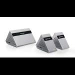 iogear GW4K30GH60KIT AV extender AV transmitter & receiver Silver