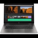 "HP ZBook Studio G5 DDR4-SDRAM Mobile workstation 39.6 cm (15.6"") 3840 x 2160 pixels 8th gen Intel® Core™ i9 16 GB 512 GB SSD NVIDIA Quadro T2000 Wi-Fi 5 (802.11ac) Windows 10 Pro Silver"