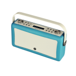 ViewQwest Hepburn Mk II radio Portable Analog & Digital Blue,White