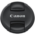 Canon E-77 II lens cap Black