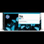 HP 766 300-ml Cyan DesignJet ink cartridge 1 pc(s) Original Standard Yield