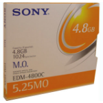 "Sony 5.25"" Magneto-Optical Disc, 4836MB MO disk 13,3 cm (5.25 Zoll)"