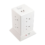 Lindy 73080 8AC outlet(s) 240V 1.5m White surge protector
