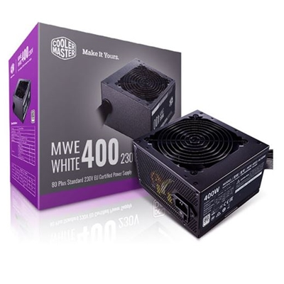COOLER MASTER COOLERMASTER MWE 400W 80 PLUS WHITE PSU