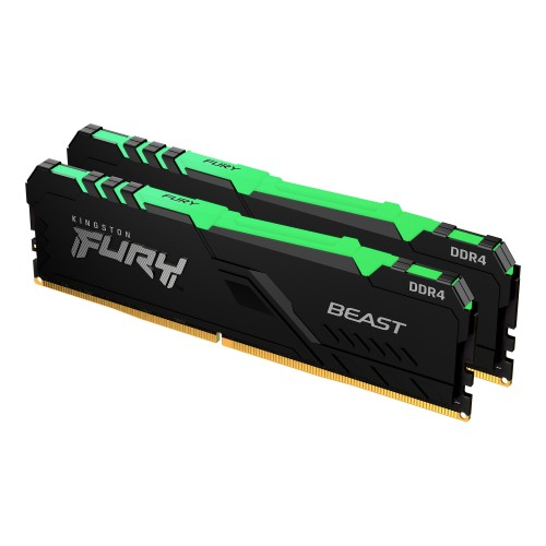Kingston Technology FURY Beast RGB memory module 16 GB 2 x 8 GB DDR4 3200 MHz
