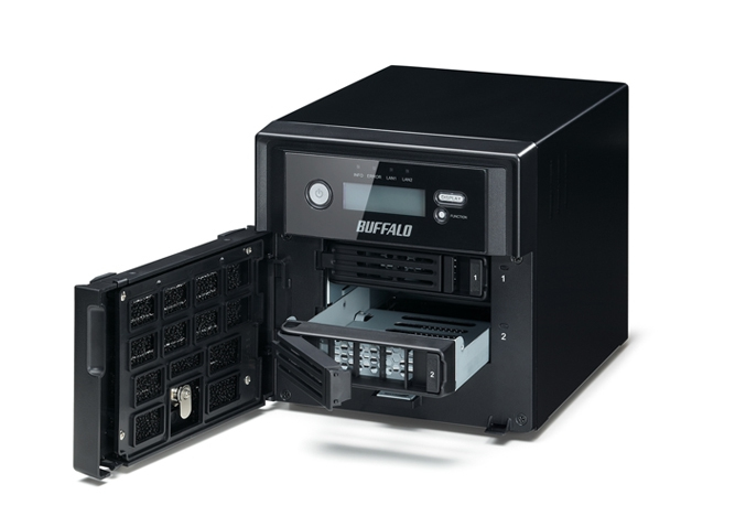 Buffalo TeraStation 5200DWR 4TB NAS Ethernet LAN Black