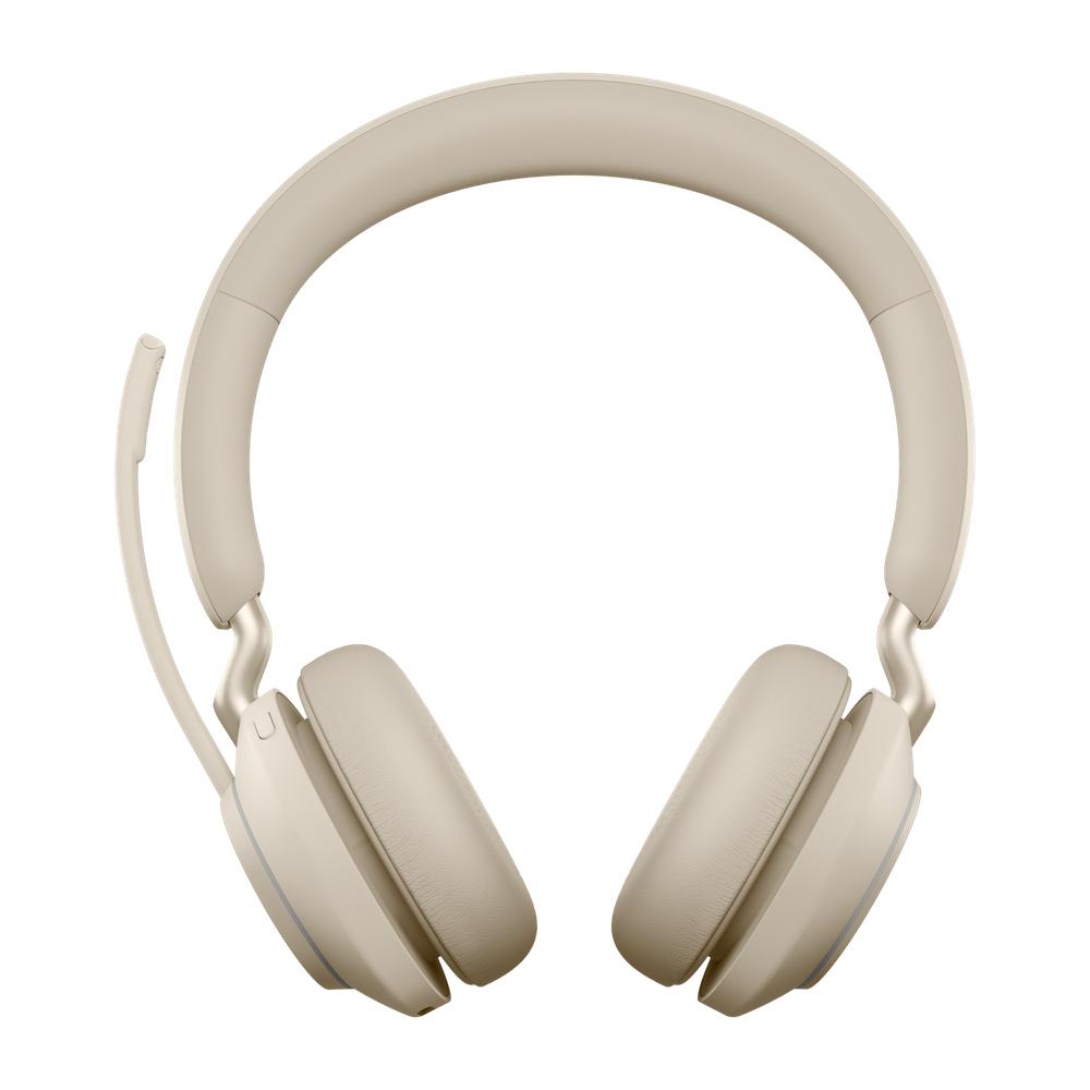 Jabra Evolve2 65, UC Stereo Auriculares Diadema Beige