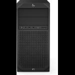 HP Z2 G4 DDR4-SDRAM E-2136 Tower Intel Xeon E 16 GB 256 GB SSD Windows 10 Pro for Workstations Workstation Black