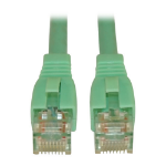 Tripp Lite Cat6a, 10ft 3.05m Cat6a U/UTP (UTP) Turquoise networking cable