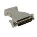 C2G DB9/DB25 Adapter DB9 FM DB25 M Gris